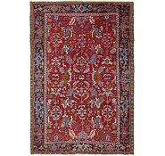 Link to 7' 5 x 11' 2 Heriz Persian Rug