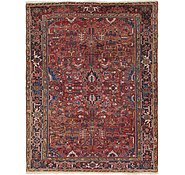 Link to 7' 10 x 10' Heriz Persian Rug