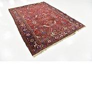 Link to 6' 8 x 9' Heriz Persian Rug