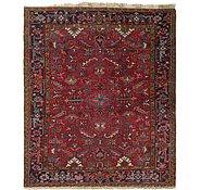 Link to 7' 6 x 8' 8 Heriz Persian Square Rug