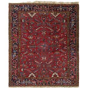 230cm x 265cm Heriz Persian Square Rug