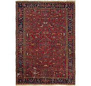 Link to 7' 8 x 11' Heriz Persian Rug