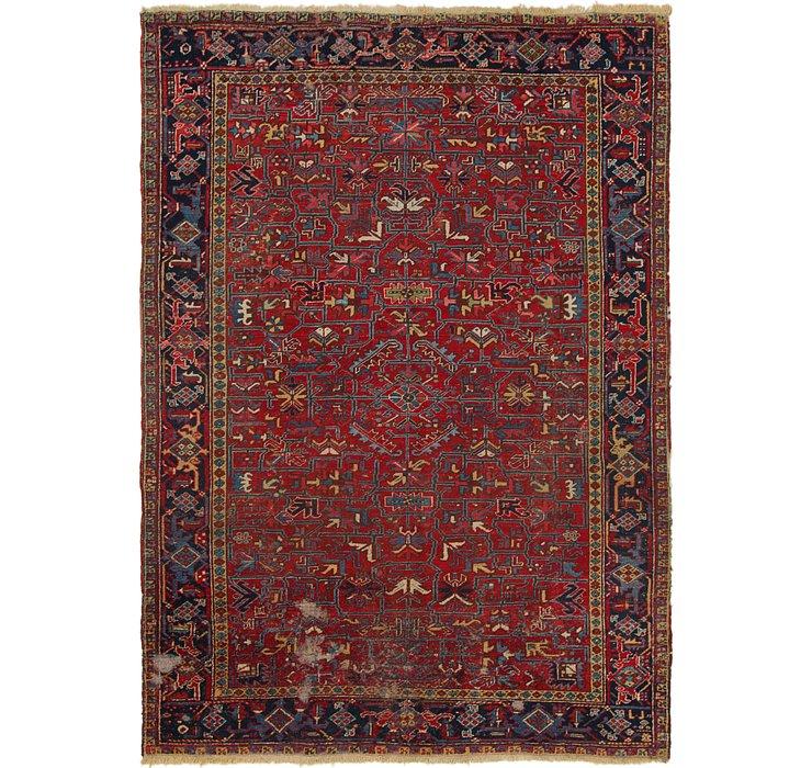 7' 8 x 11' Heriz Persian Rug