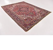 Link to 6' 9 x 9' 3 Heriz Persian Rug