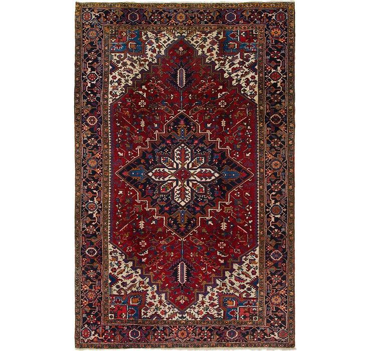 6' 9 x 10' 7 Heriz Persian Rug
