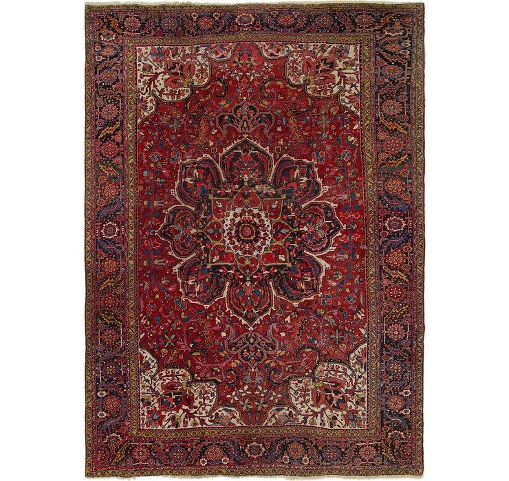 10' x 14' Heriz Persian Rug