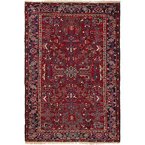 220cm x 325cm Heriz Persian Rug