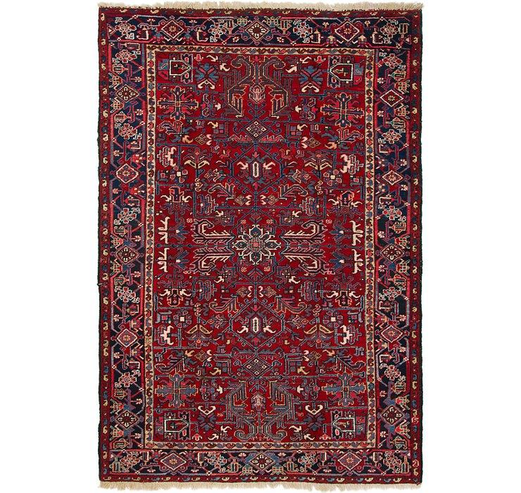 7' 3 x 10' 8 Heriz Persian Rug