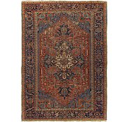 Link to 7' 5 x 10' 4 Heriz Persian Rug