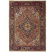 Link to 7' x 9' 4 Heriz Persian Rug