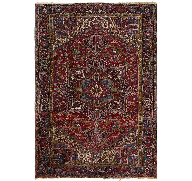 8' 3 x 11' 7 Heriz Persian Rug