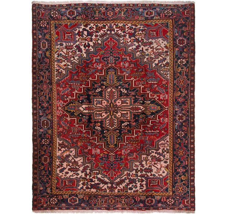 8' 4 x 10' 8 Heriz Persian Rug