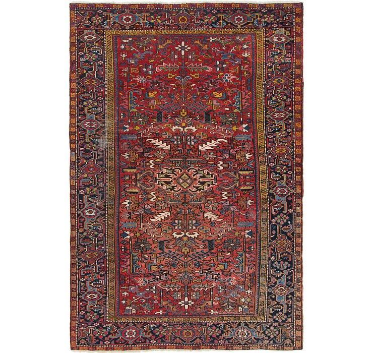 7' 3 x 10' 5 Heriz Persian Rug