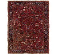 Link to 7' 4 x 9' 3 Heriz Persian Rug