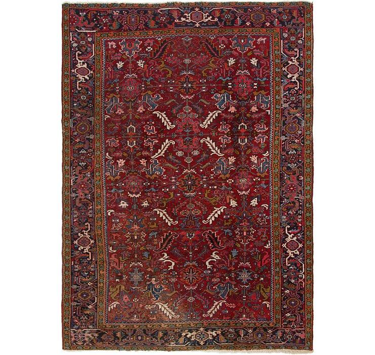 7' 9 x 10' 9 Heriz Persian Rug