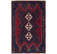 Link to 4' 2 x 6' 6 Shiraz Persian Rug
