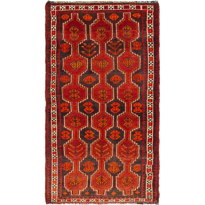 3' 9 x 6' 6 Shiraz Persian Rug