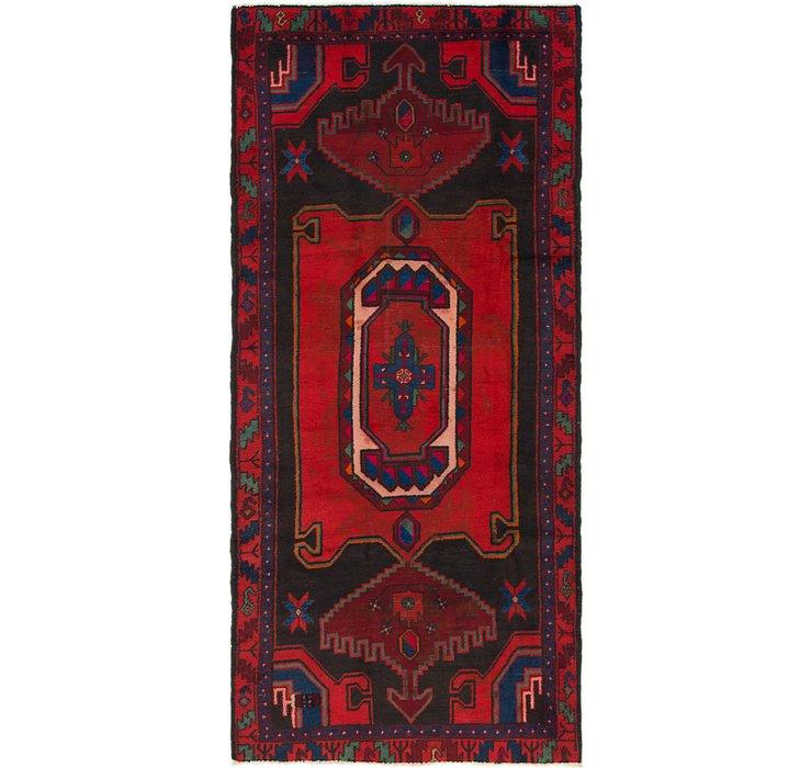 122cm x 267cm Zanjan Persian Runner Rug