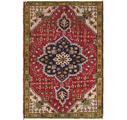 Link to 3' 4 x 4' 9 Tabriz Persian Rug