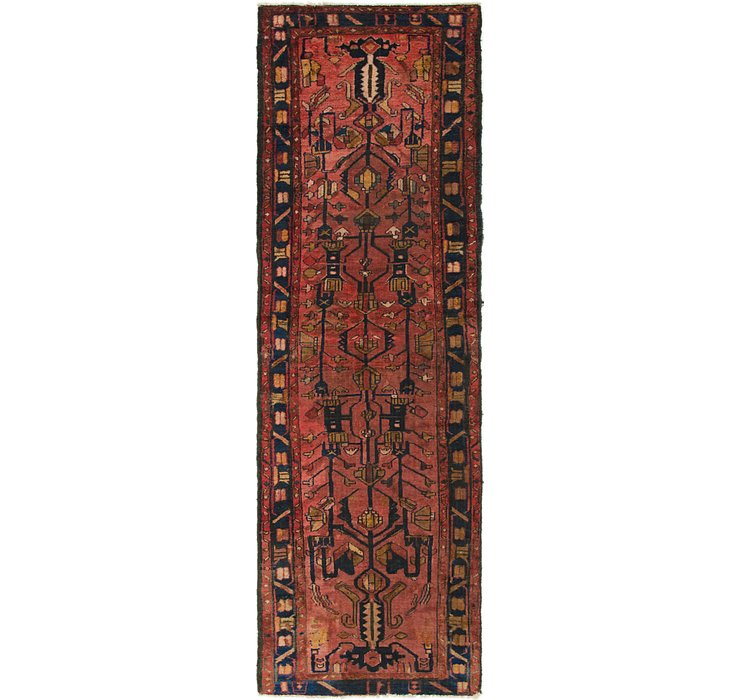 3' 2 x 10' Hamedan Persian Runner ...