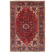 Link to 8' 4 x 12' Heriz Persian Rug