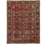 Link to 8' 4 x 11' Heriz Persian Rug