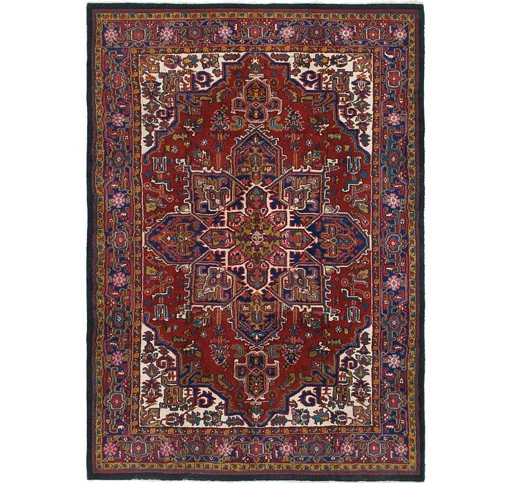 8' 4 x 11' 7 Heriz Persian Rug