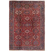 Link to 7' 9 x 11' 2 Heriz Persian Rug