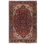 Link to 7' 6 x 11' Heriz Persian Rug