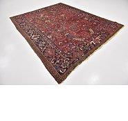Link to 7' 7 x 9' Heriz Persian Rug