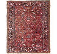 Link to 7' 7 x 9' Heriz Persian Rug