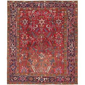 7' 6 x 8' 8 Heriz Persian Rug
