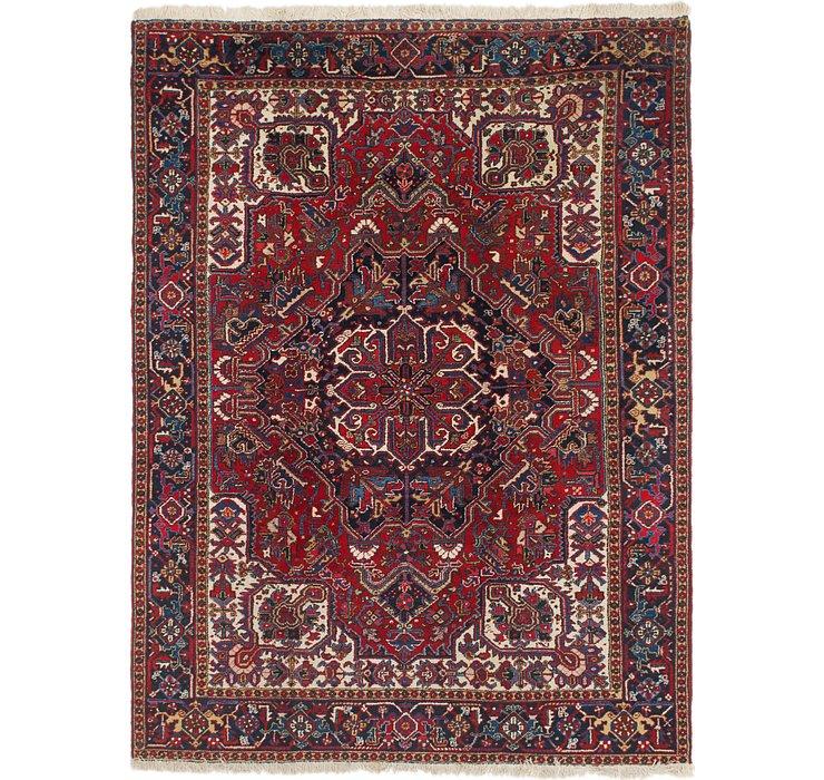 7' 10 x 10' 4 Heriz Persian Rug