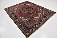 Link to 6' 10 x 8' 5 Heriz Persian Square Rug
