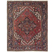 Link to 6' 10 x 8' 5 Heriz Persian Square Rug