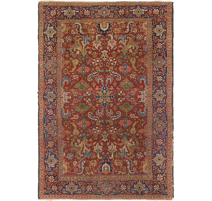 203cm x 295cm Heriz Persian Rug