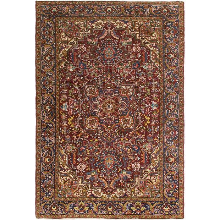 6' 9 x 10' 3 Heriz Persian Rug