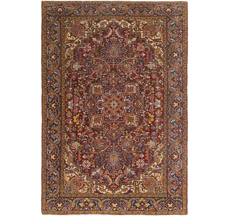 205cm x 312cm Heriz Persian Rug
