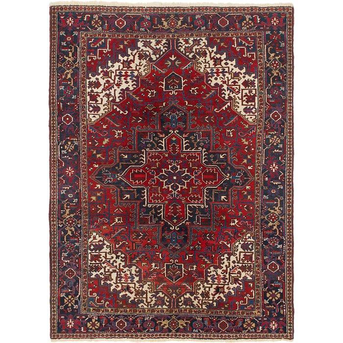 7' 9 x 10' 5 Heriz Persian Rug