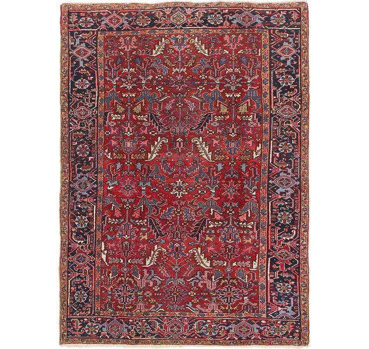 7' 5 x 10' 2 Heriz Persian Rug