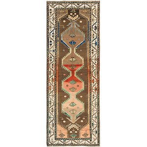 Link to 3' 7 x 9' 9 Hamedan Persian Runner... item page