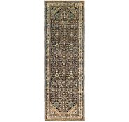 Link to 3' 8 x 11' 8 Hossainabad Persian Runner Rug