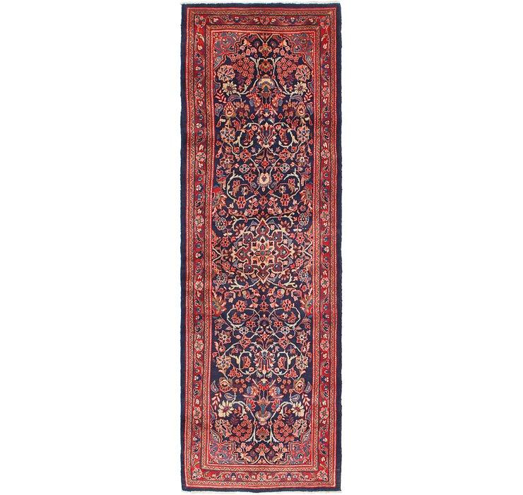 3' 6 x 11' 2 Mahal Persian Runner Rug