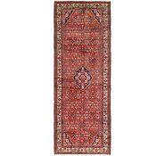 Link to 107cm x 292cm Hossainabad Persian Runner Rug
