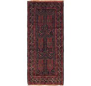 Link to 3' 10 x 9' 4 Shiraz Persian Runner Rug
