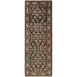 Link to 107cm x 310cm Mahal Persian Runner Rug item page