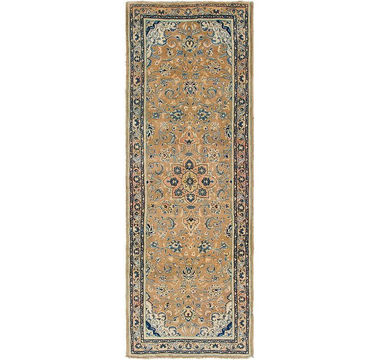3' 9 x 10' 8 Mahal Persian Runner Rug