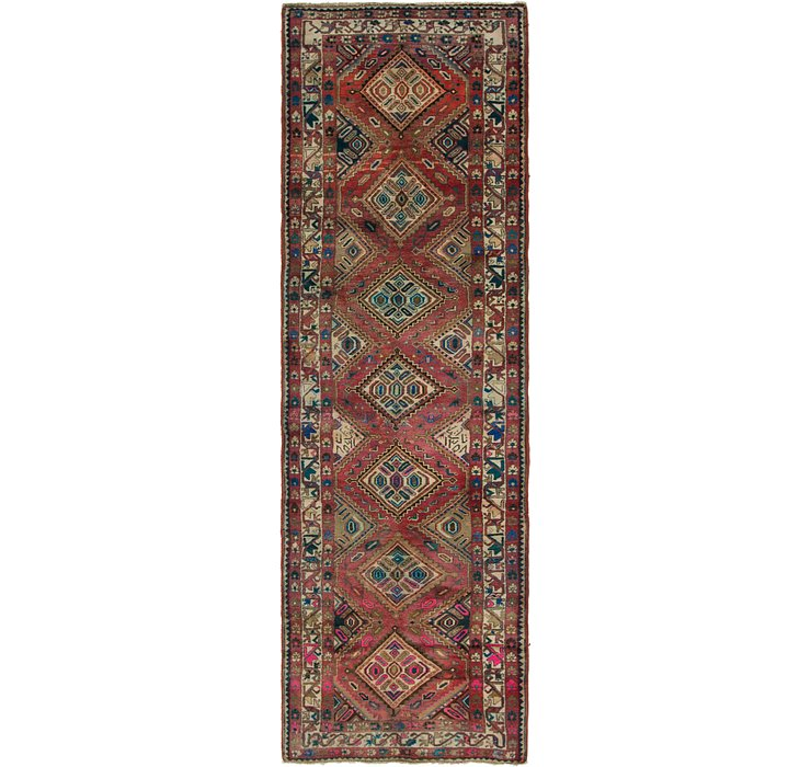 3' 7 x 11' 7 Chenar Persian Runner Rug