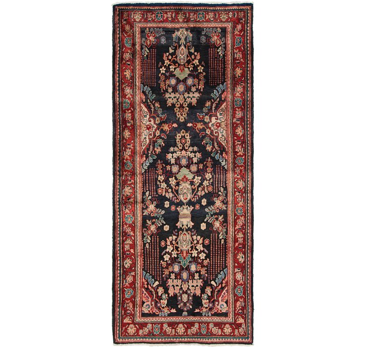 HandKnotted 3' 10 x 9' 6 Mahal Persian Runner Rug