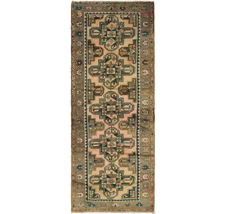 3' 8 x 9' 10 Saveh Persian Runner Rug